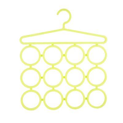 Gancho organizador de bufandas 12 espacios