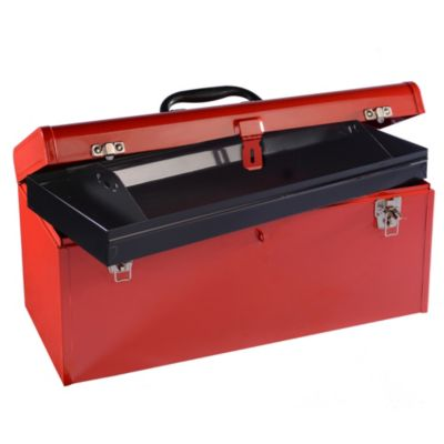 Caja metálica con bandeja CJ-135