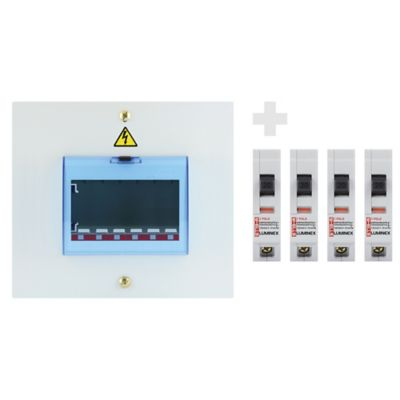 Kit Tablero Monofase 4x20+ 2x30 Circuito Estano Lumine
