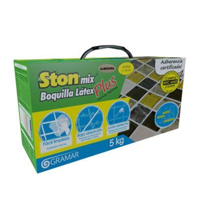 Stonmix Boquilla Lavable Látex x 5 kg Almendra