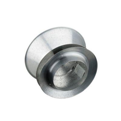 Deflector 5 Pulg-Lámina Galvanizada Calibre 24