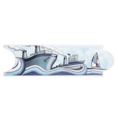 Listelo Panama Azul 8X25cm