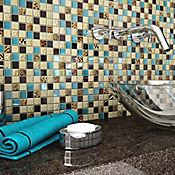 d8123ec52b Mosaico Cerámico Rauni 30x30 Centímetros Azul