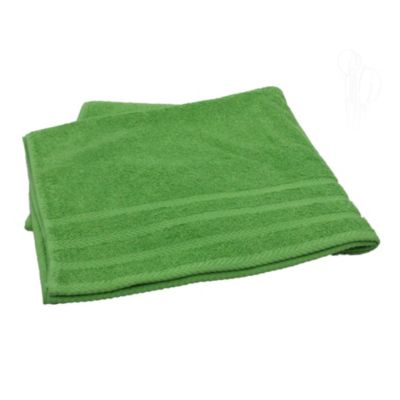Toalla praga 500 gramos verde 70 x 140 cm