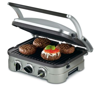 Panini Grill Griddler Cuisinart 5 Opc