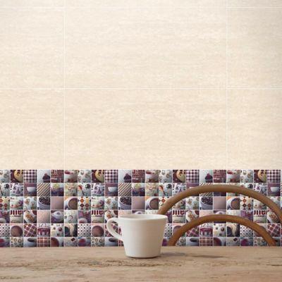 Base Decorada Maquiatto Cafe 31.5X31.5cm