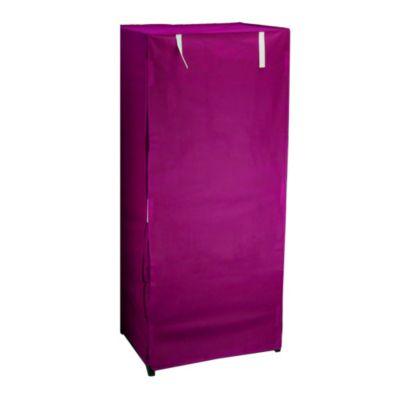 Closet tela infantil fucsia 1.49x65x50 cm