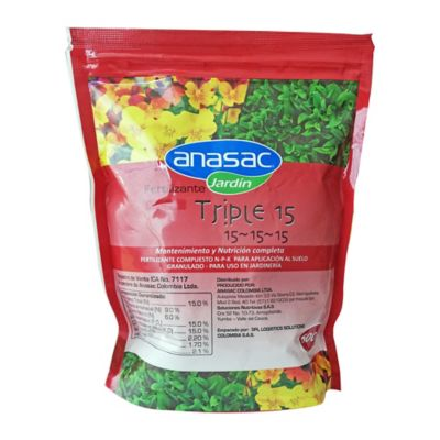 Fertilizante Triple 15 x 600 G. Tarro