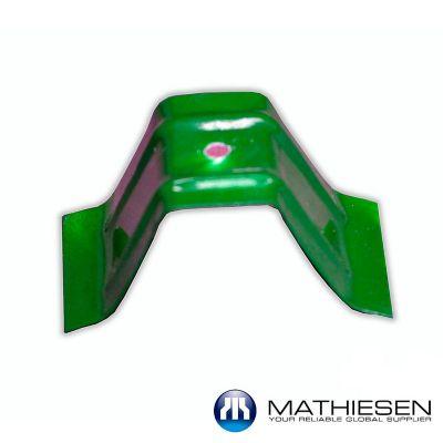 Set de fijación x 10 unidades para Teja Forte Verde