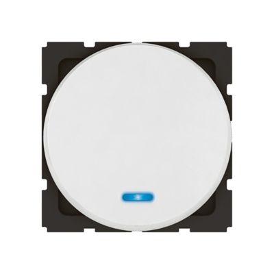 Interruptor sencillo redondo arteor blanco