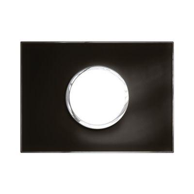 Placa Redonda arteor eSPejo negra