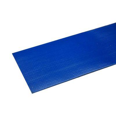 Manguera Plana Color Azul de 2 Pulgx1m 87psi