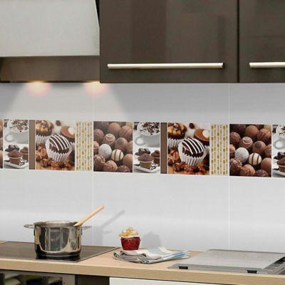 Base Decorada Ambrosia Cafe 20X60cm