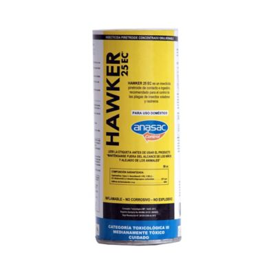 Hawker insecticida casa y jardín 50cc