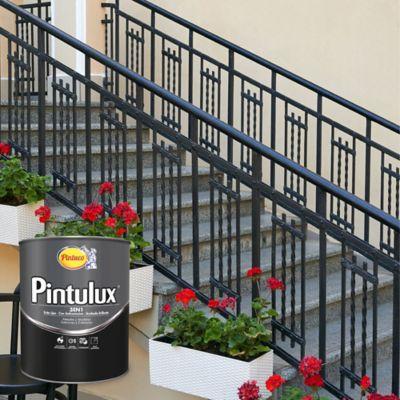 Pintulux  Gris Plata 3 en 1 de 1/4 de Galón