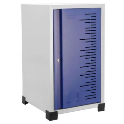 Locker Metálico Apilable Puerta Azul