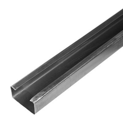 Perfil C GR36 120 x 60 x 1.2mm x 6m negro