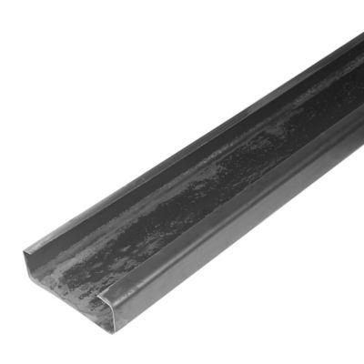 Perfil C GR36 150 x 50 x 1.2mm x 6m negro