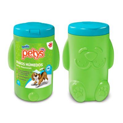 Paños Húmedos Familia Mascotas Pote