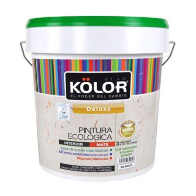 Pintura para Interior Ecológica Blanco 3 Galones