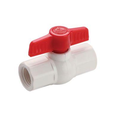 Válvula Bola PVC 1/2 Roscada