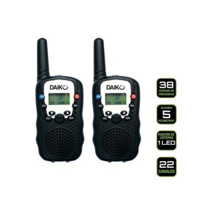 Radios Intercomunicadores Doble Vía 5km 22 Canales