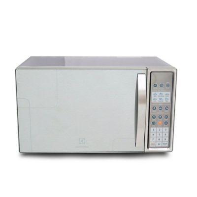 Microondas 28 Litros Con Grill Acero Inoxidable