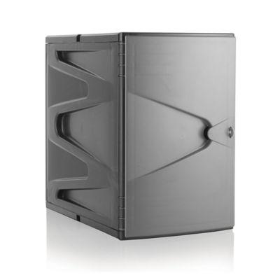 Locker plástico modular gris de 45 cm