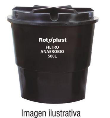 Filtro Anaeróbico 500 Litros C.T Negro