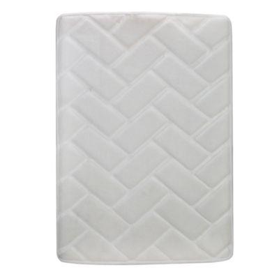 Tapete Foam Bricks 43x61 cm Marfil