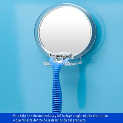 Espejo Adherente Porta Cuchillas 12x12 cm