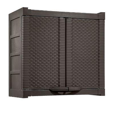Armario Gabinete 2 Puertas 65.5x70.5x40 cm Wengue