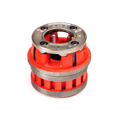SP Cabezal Trinquete C/Dados P/Rosca 12R NPT Tubería 1 1/4 Pulgada Color Rojo