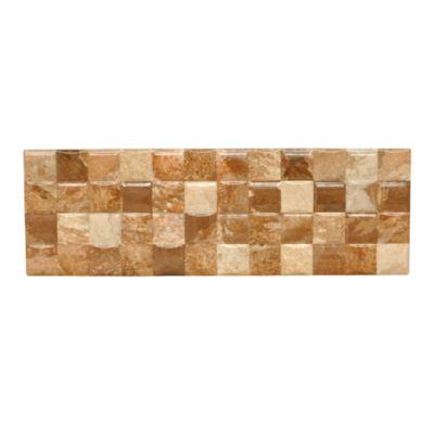 Decorado pared dama terracota 15x45cm