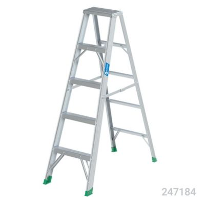 Escalera 1.5mt 4 Pasos Tijera Aluminio 102kg TII