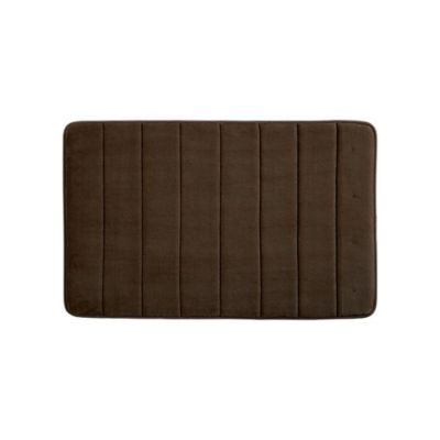 Tapete para Baño Foam Rc 40x60 cm Chocolate