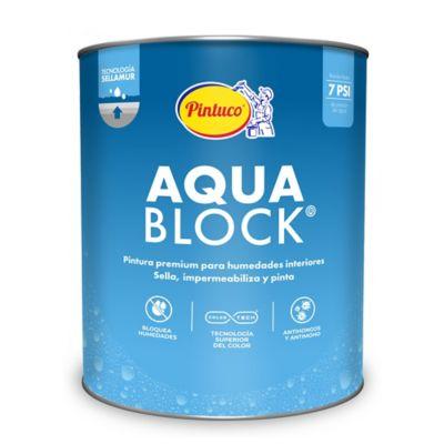 Pintura para Interior Anti Humedad Blanco 1 Galón