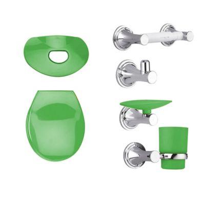 Kit Happy Tapa y Accesorios Color Verde