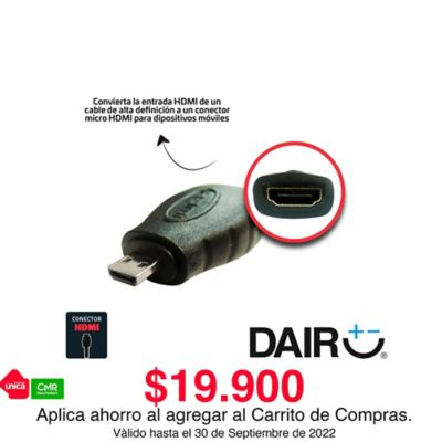 Convertidor HDMI a micro HDMI