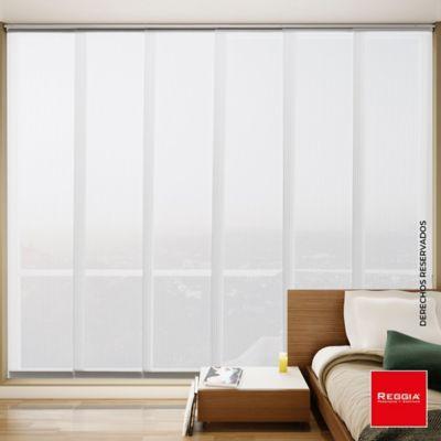 Panel Japonés 300x230 cm Blanco Cuarzo