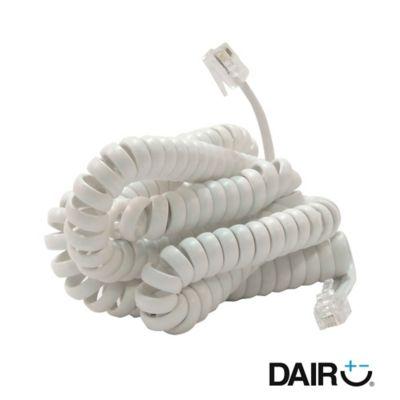 Cordón Auricular 4.5 M Blanco