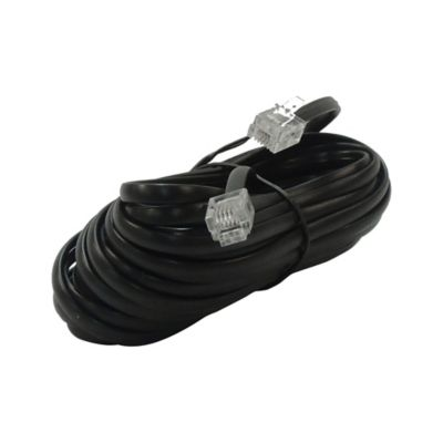 Cable Telefónico 7.6 M Negro