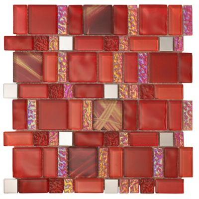 Mosaico America Red 30X30cm