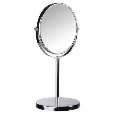 Espejo De Pie Cosmetico Acero