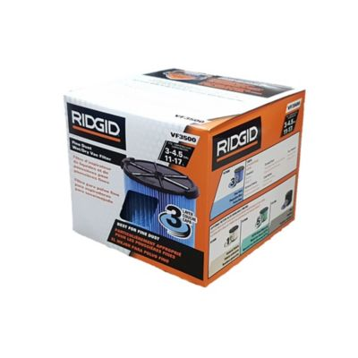 Filtro Aspiradora VF3500 De 4 a 4.5 Galones