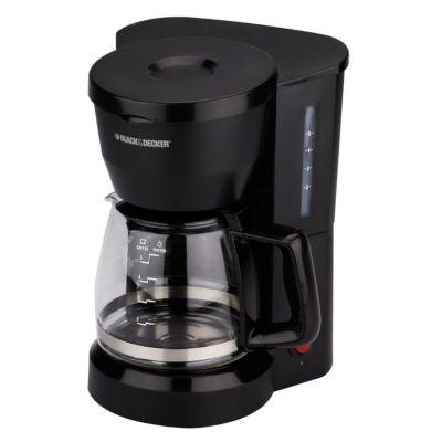 Cafetera Electrica 5 Tazas Negro DCM601B