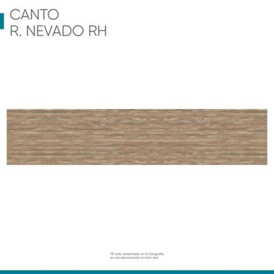 Canto flexible 19mmx1m Roble nevado