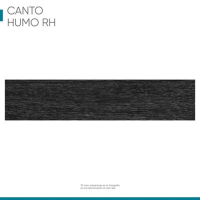 Canto flexible 19mmx1m Roble humo