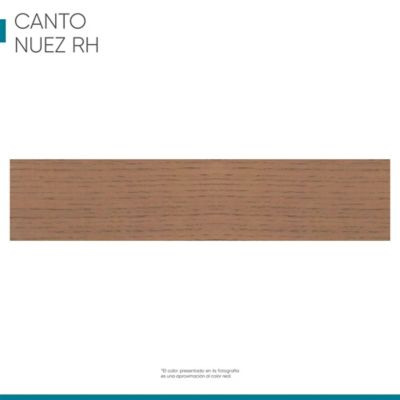 Canto flexible 19mmx1m Roble nuez