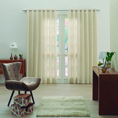 Cortina Decorativa 193x250 cm Beige